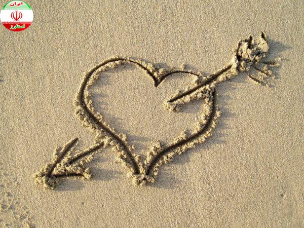 چرا نماد عشق قلب تیر خورده است؟